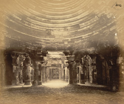 Interior of the Somanatha Temple from the east, Somnath (Prabhas Patan)